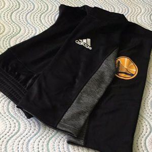 Adidas golden state Warriors warm-up pants